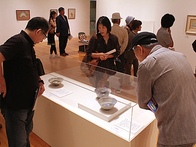 「魯山人の宇宙」展始まる  高岡市美術館