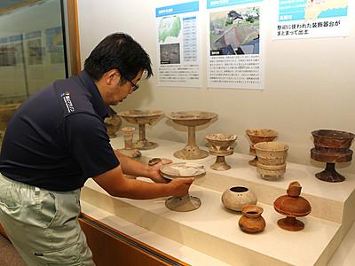 18日から「北陸新幹線を掘る」 県埋蔵文化財センター