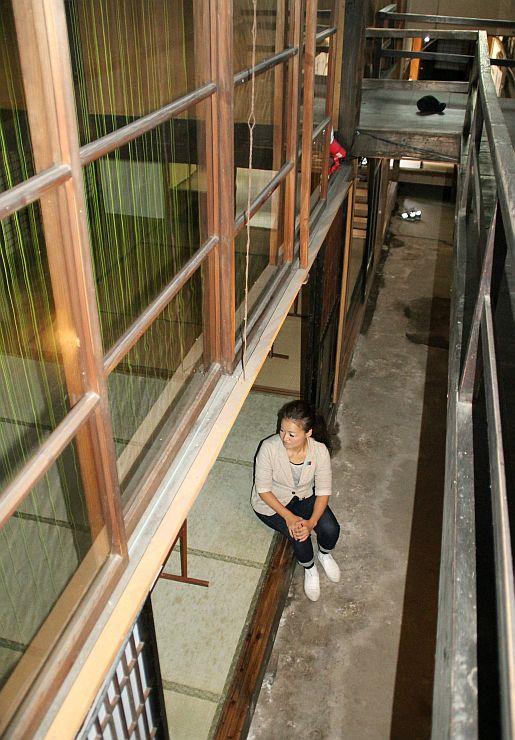 10月12日まで公開されている明治時代に建てられた町屋=新潟市南区