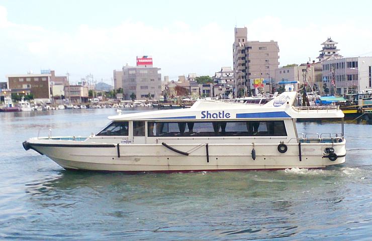 滑川市が購入した観光遊覧船