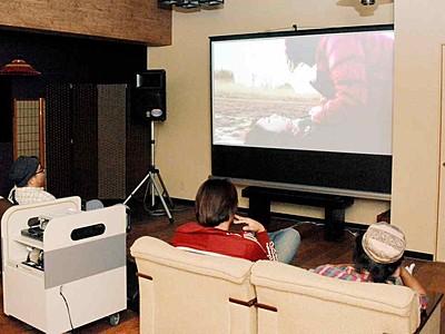 自主制作映画を温泉旅館で上映 あわら湯けむり芸術祭が開幕