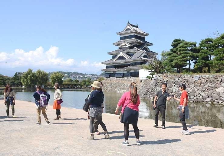 「行ってよかった!日本の城ランキング2015」で2位になった松本城