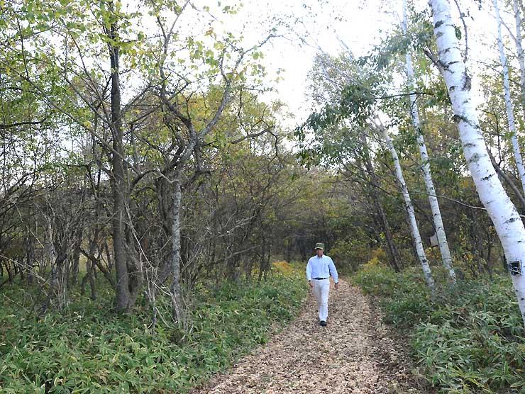 10日から一般に開放される八ケ岳演習林の「恵みの森」