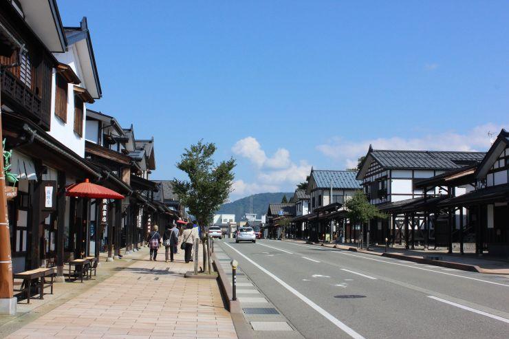 アジア都市景観賞を受賞した牧之通り=南魚沼市