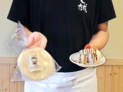 米粉ご当地グルメ「べえべえ」 もちもち食感手軽に 胎内「すし誠」 普及へ生地を市販化 市観光協、支援のレシピ集