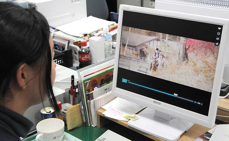 木曽町観光協会が外国人向けに配信を始めた動画