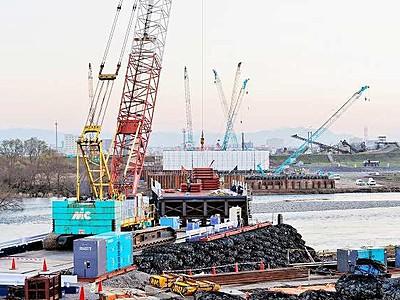 新幹線九頭竜川橋など工事本格化 2016年度政府予算案