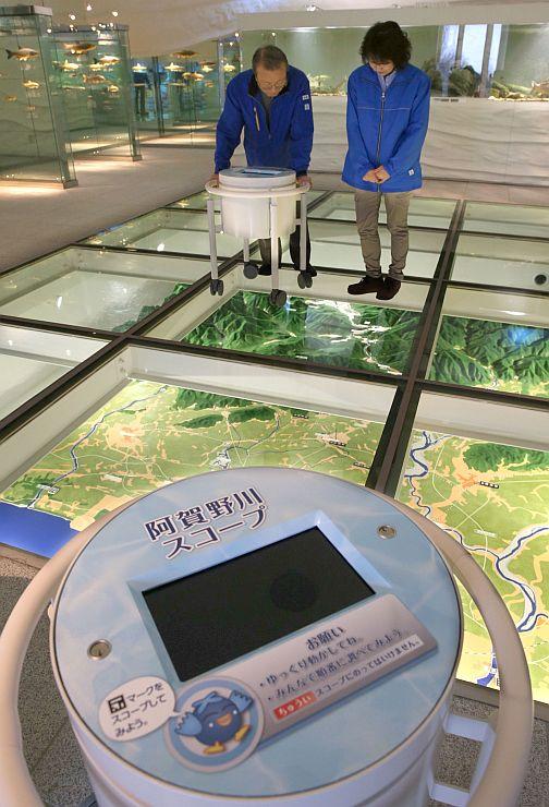 展示内容を改め、リニューアルオープンする県立環境と人間のふれあい館=5日、新潟市北区