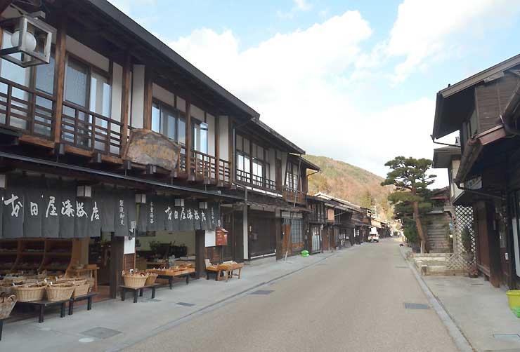 「NSD67総選挙!!」で1位になった奈良井宿
