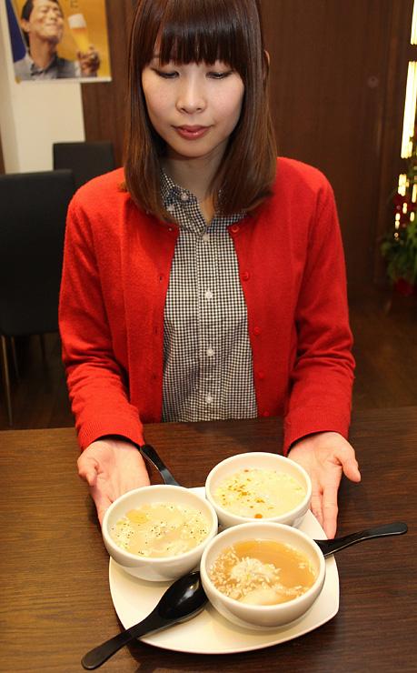 昨年の人気投票1位・藍菜坊が提供する「こだわり三國水餃子」