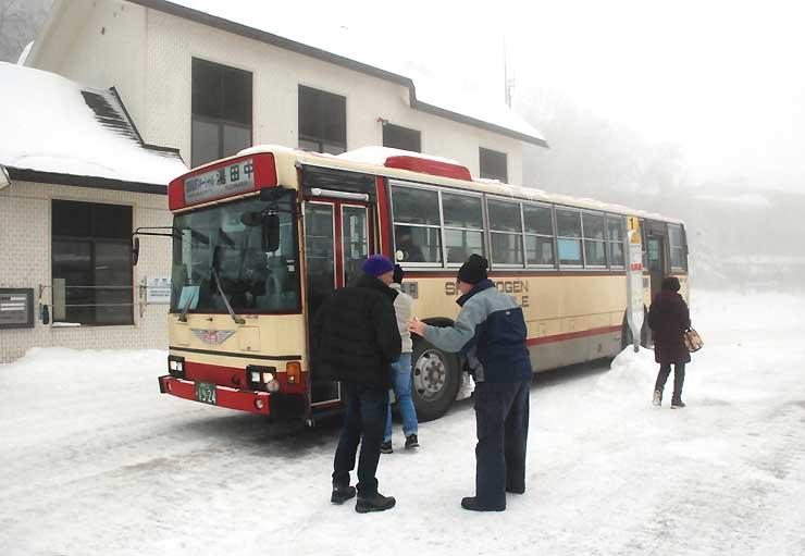 パーク&ライドの利用者が乗車できる路線バス