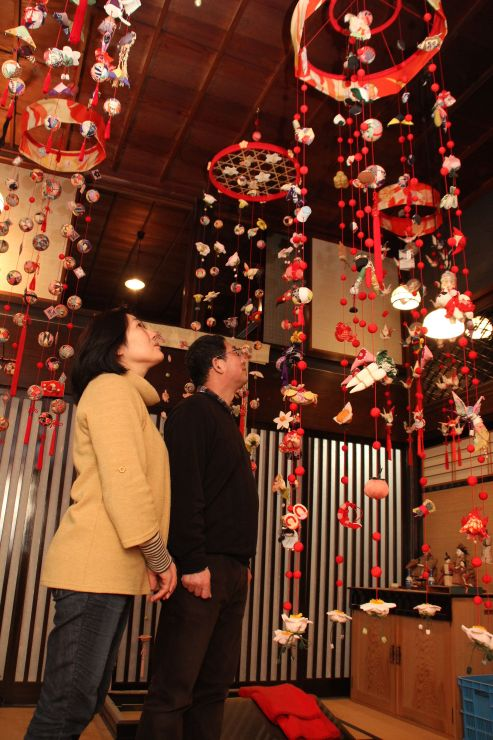 20日に開館する「雛の町家」=新潟市秋葉区小須戸