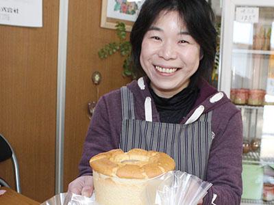 ふわふわシフォンケーキ販売 高岡・前崎養鶏
