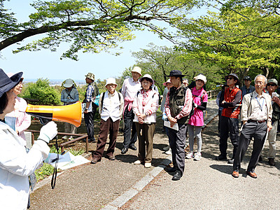 呉羽山は見どころ豊富 12キロ探訪コース考案