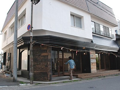 湯田中温泉街に7日カフェ開店 山ノ内のまちづくり会社