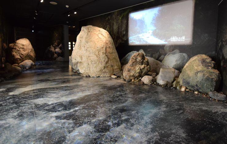 日本展示学会賞に選ばれたフォッサマグナミュージアム=糸魚川市一ノ宮
