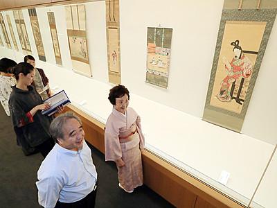 河鍋暁斎展25日に開幕 県水墨美術館