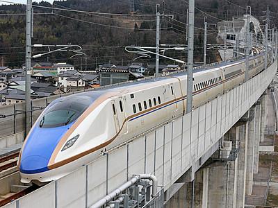 携帯通話可へ 北陸新幹線金沢-新潟間県境トンネル
