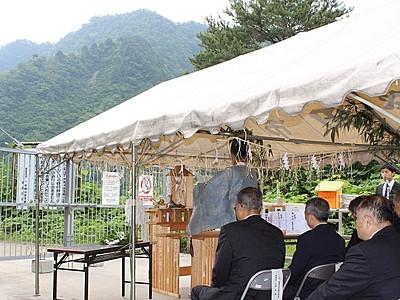 秘湯への道開通 13年に豪雨被害 新発田・湯の平