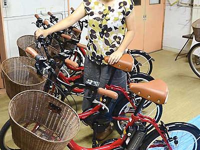 小谷の隅々まで足を運んで 電動アシスト自転車貸し出しへ