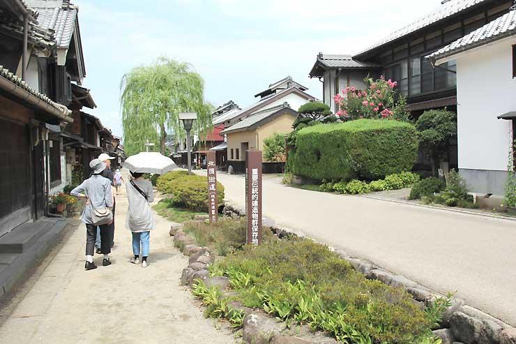 8月27日に「北国街道海野宿にぎわい夏祭り」が開かれる東御市の海野宿