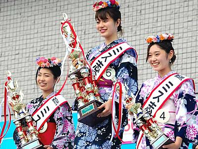 ミス志賀高原、輝き半世紀 グランプリは東御出身の北野さん