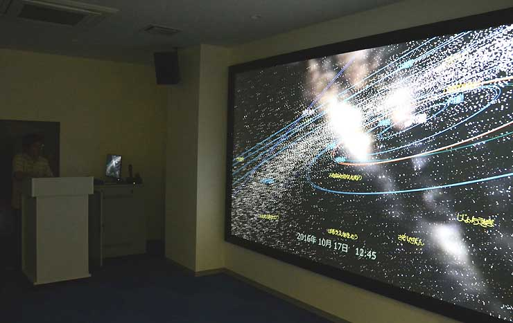 野辺山宇宙電波観測所が上演しているシアター