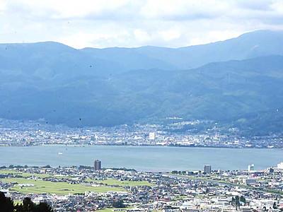 杖突峠から見る夜景と花火 茅野「峠の茶屋」で9月3日催し
