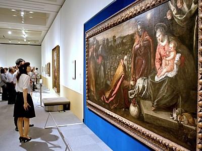 ヴェネツィア展10日開幕 色彩の妙浮かぶ情景 長岡近美