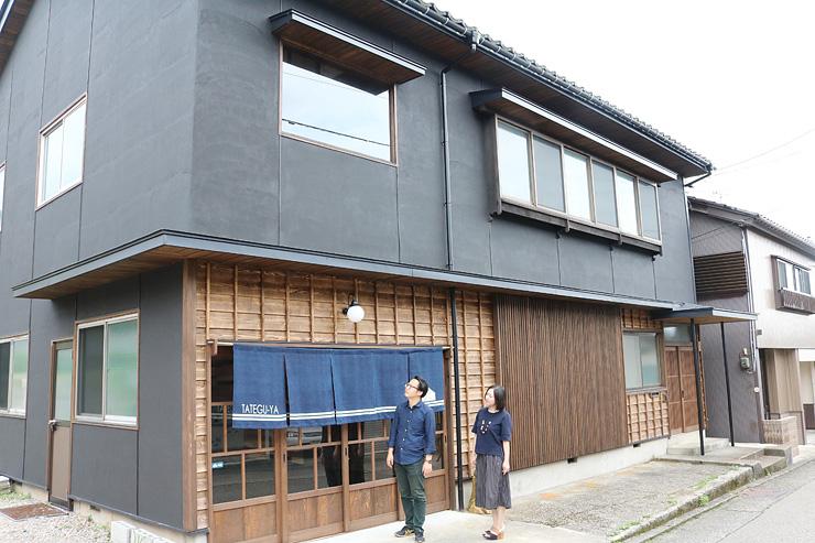 空き家を改修してオープンするゲストハウス=南砺市井波