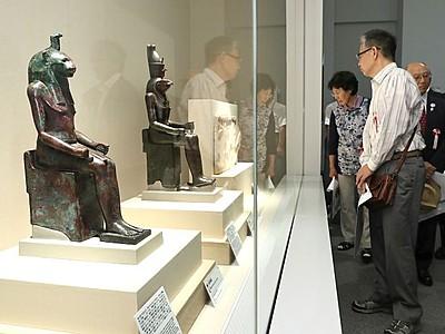 長岡「古代オリエント美術の愉しみ展」開催中