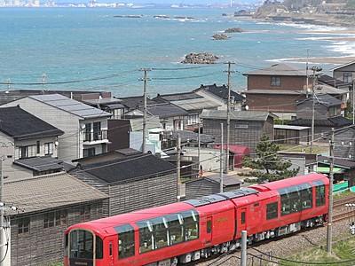 トキ鉄リゾート列車「雪月花」 冬季運行計画を発表