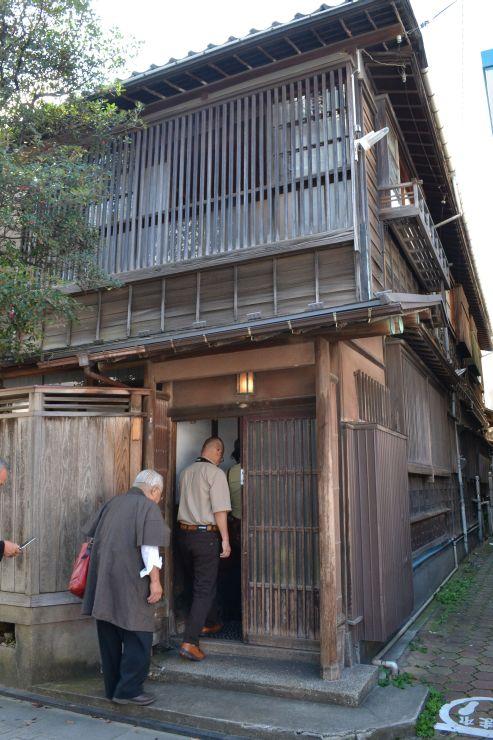 昨年初めて公開された旧花岡邸=新潟市中央区