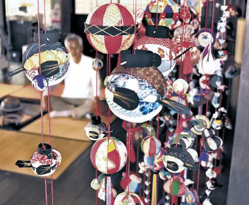 美川地区のつるし飾り「ふくさげ飾り」