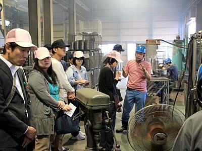 「工場の祭典」開幕 目見張る職人技 9日まで