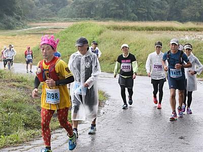 過去最多の2373人 上越で100キロマラソン