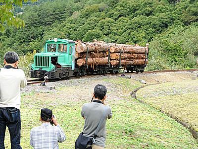 王滝村で森林鉄道フェス、全国のファン集う