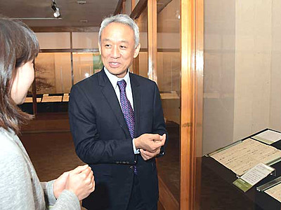 「三世代で作る演劇」松代開催を 西村雅彦さん、長野市長と懇談