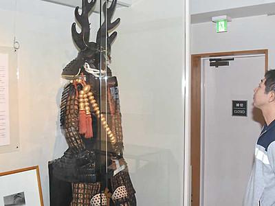 本多忠勝とその一族 上田・真田太平記館で企画展第3弾