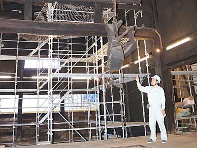 城端別院善徳寺「平成の大修理」見学を 15、16日