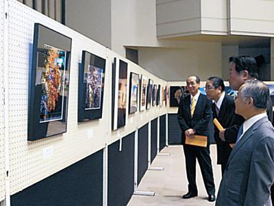 5部門61点並ぶ 美川美術展が開幕、最高賞に束田さん