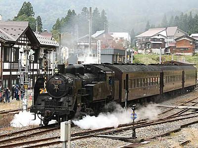 44年ぶり、飯山線にSL 11月の運行へ試運転