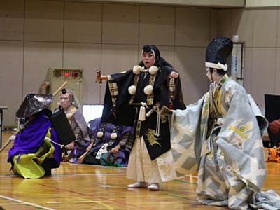 「勧進帳」本番さながら 小松市南部中、11月上演