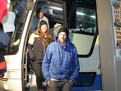 夕食は白馬から糸魚川へ直行バス 外国人スキー客呼び込み