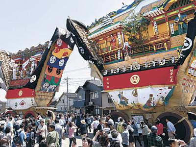 青柏祭、無形文化遺産に 「山・鉾・屋台行事」、ユネスコ補助機関が登録勧告