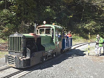飯田の森林鉄道、念願の復元 遠山郷に周回コース