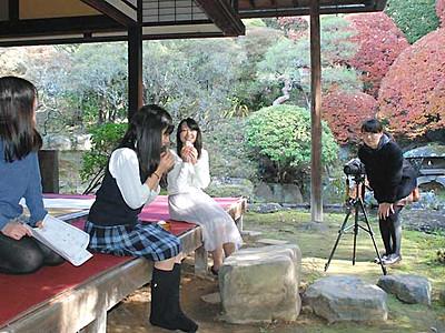 諏訪地方の魅力、動画でPR方法研究 慶応大・慶応女子高の30人