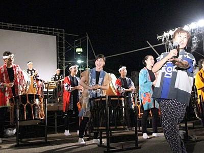 """来夏のアース・セレブレーション 大型コンサート""""復活"""""""