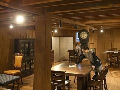 上越「保阪邸」「旧小柳医院」19日から公開