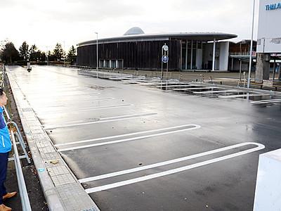 駐車場を84台分拡張 滑川・ほたるいかミュージアム